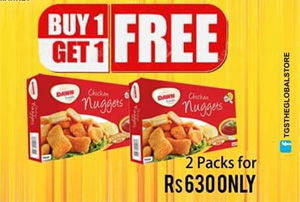 Buy 1 Get 1 Free offer by Tgs