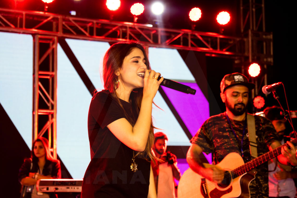 Aima Baig Live in Concert at Amanah Mall