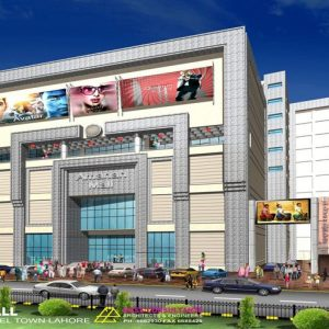 What makes a shopping center suitable for buyers?