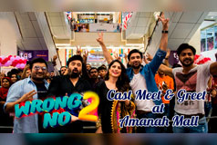 Wrong No.2 Cast Meet & Greet at Amanah Mall