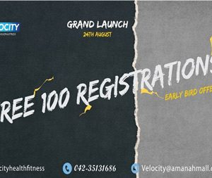 Grand Launch of *Velocity Health And Fitness* Club