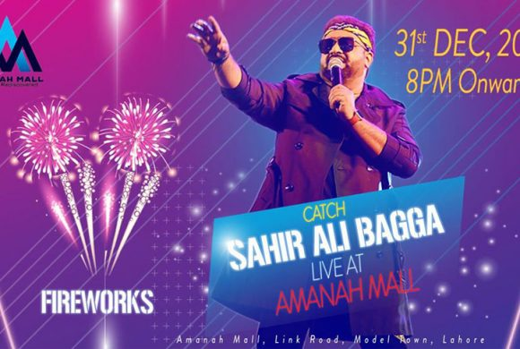 Sahir Ali Bagga-Amanah Mall-New Year