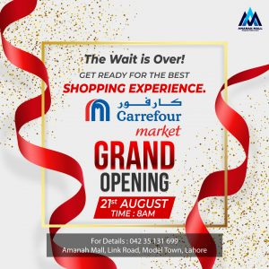 CARREFOUR MARKET GRAND OPENING AT AMANAH MALL