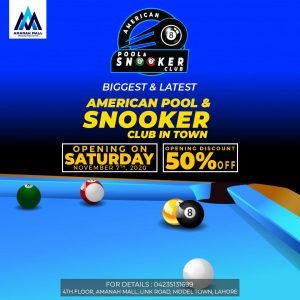 Grand Launch of American Pool & Snooker Club