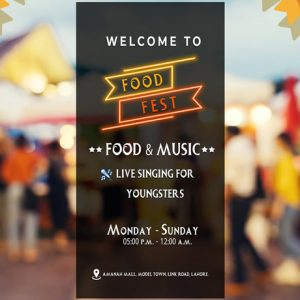 SUMMER FOOD FESTIVAL 2021 AMANAH MALL LAHORE !
